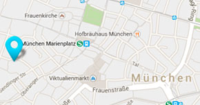 Lage RD Partner Rechtsanwälte Steuerberater München